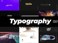 Typography - Ads Pack