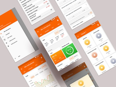 Mobile Dashboard UI