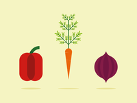 Vegetable Illustrations