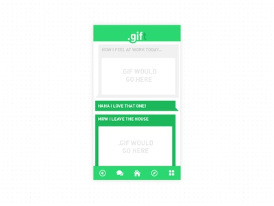 .gift // GIF messaging!
