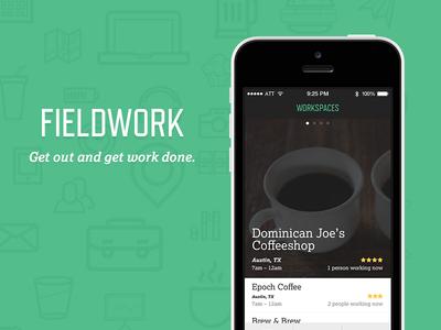 Fieldwork, the Co-working App
