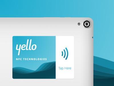 Yello NFC Sticker