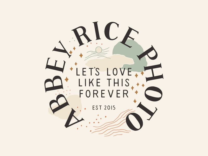 Abbey Rice Logo Design
