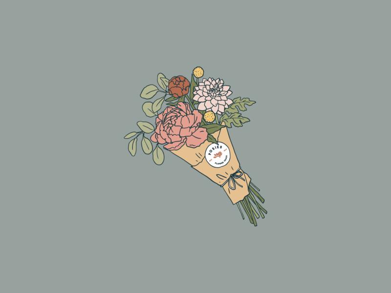 5ebcf8d9e68 Enamel Pin Design floral art floral drawing illustration