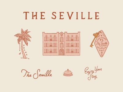 The Seville Branding