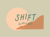 Shift Coffee Bar Logo Concept