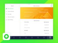 Ocha Report Page UI Design