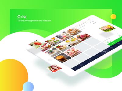 Ocha-the best POS application for a restaurant