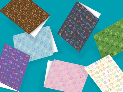 Pocketmaps Greeting Cards