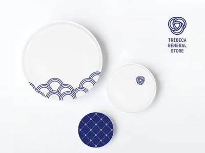 Branding and Porcelain Gift Set Plates
