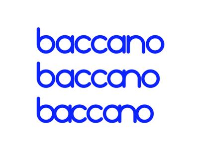 baccano logotype study