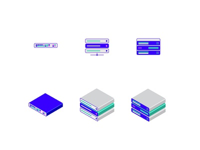 Icons are Fun 3d isometric illustration computer icon