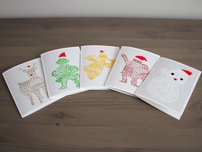 Holiday Greetings 🎄 christmas holidays illustration greeting cards typography graphic design lettering