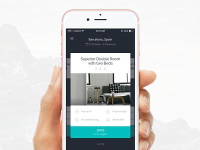 Routes iOS UI Kit booking hotel travel ios kit ui
