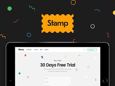 Stamp UI Cards