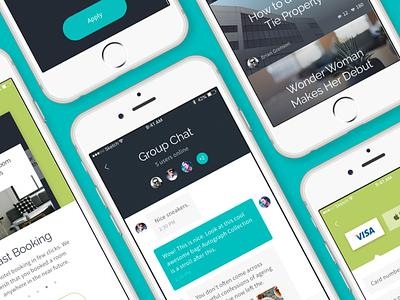 Routes UI Kit on Behance ecommerce social travel ios ui ui kit routes