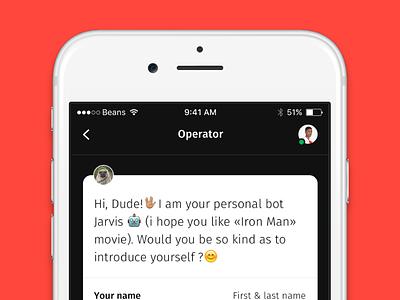 Glue UI Kit bots chat ux ui ios ui kit