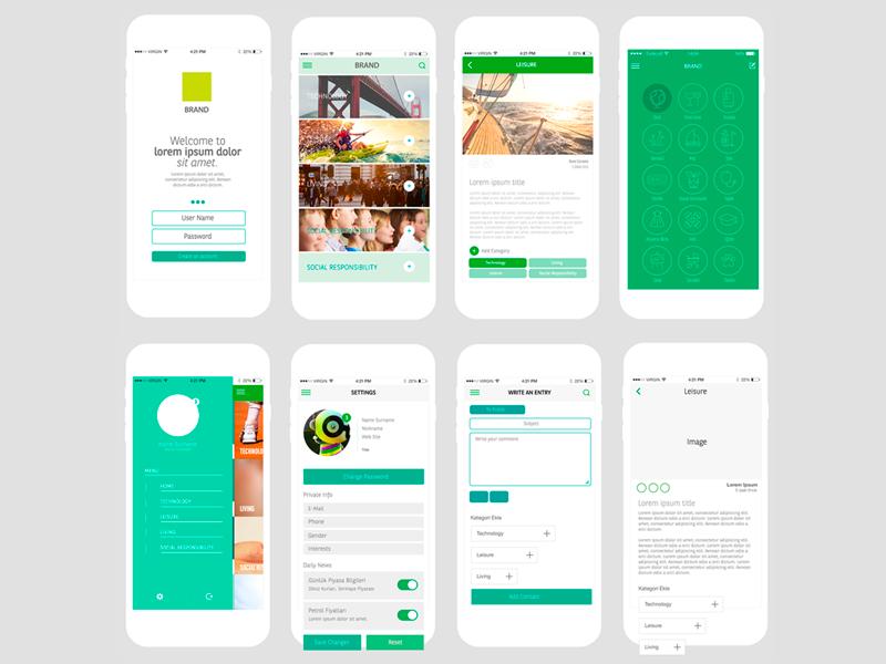 mobile bank app wireframe by seil kalem dribbble
