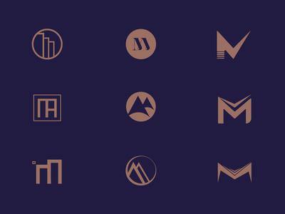 M Letter Logotype