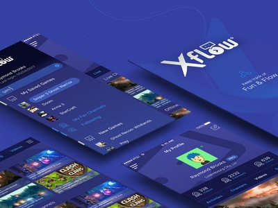 Xflow Video Game Stream Mobile App