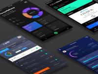 Banking Mobile App Designs (Re-design)