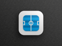 Icon for football scores app