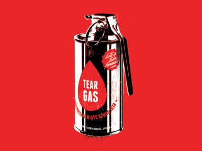 Tear gas can