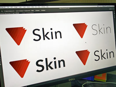 Working on the Logo for an upcoming project modern logo skin