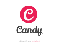 Candy Social Media Icon Set (Coming Soon)