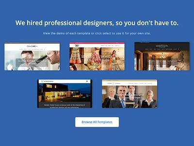 Showcase the Templates & Website templates work portfolio showcase