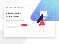 Stock photos concept