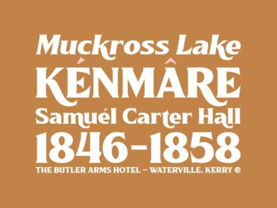 Killarney Typeface 2