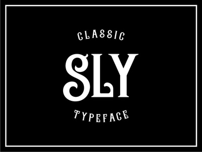 Sly Typeface