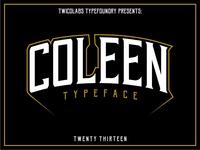 Coleen Typeface