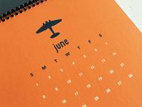 WWII Planes 2014 calendar