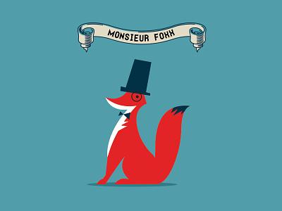 Fox illustration fox