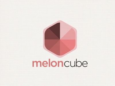 Meloncube logo melon cube