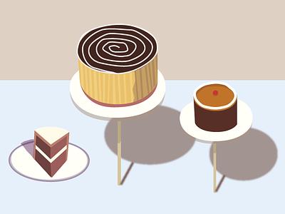 Cakes wayne thiebaud