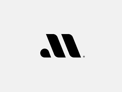 M Mark monogram agency art direction typography icon mark logo branding vancouver identity