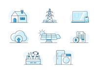 Smart Home Illustrations