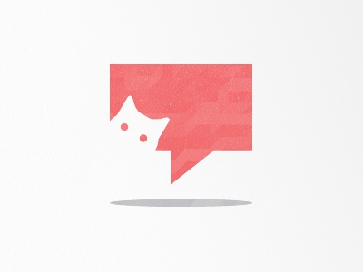 Whiskers icon logo vancouver mark brand rebrand branding cat social media