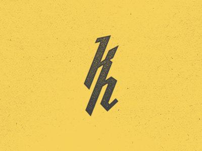 Kristian Hay Monogram monogram personal branding identity logo mark kristian hay vancouver