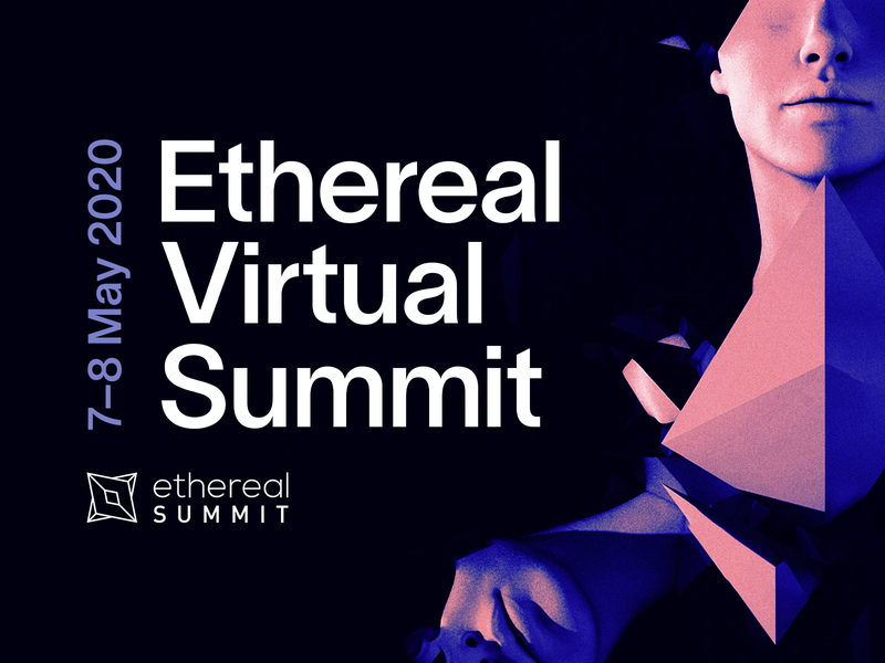 Ethereal Virtual Summit 2020 texture gradient art direction ethereal surreal cinema 4d c4d