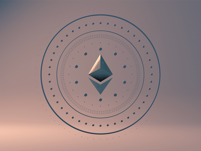 Ethereum design creative blockchain geometry illustration c4d 3d art 3d crypto ethereum