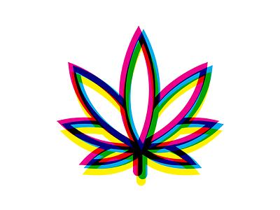 High Maintenance Leaf cannabis high maintenance leaf logo rgb branding visual design weed marijuana plants cmyk