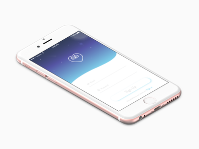 Daily UI 001 - iPhone Mock Up