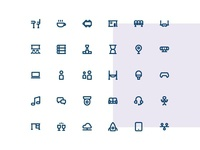 Coworking Icons