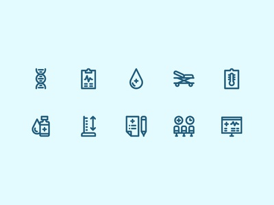 Medical Icons medical ui outline icon set iconography icon