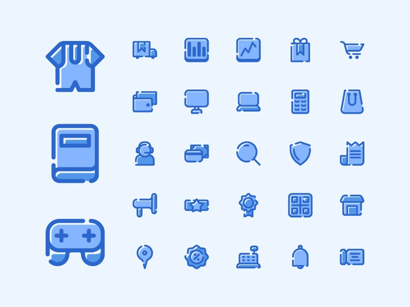 E-Commerce Icon set mbe style mbe illustration vector filled outline ui outline icon set iconography icon