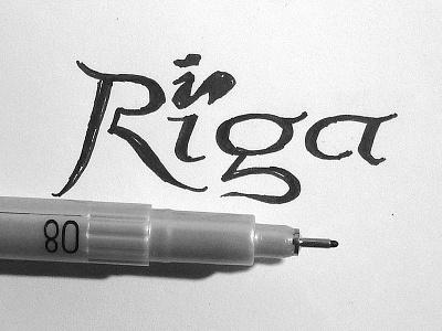 Riga sketch latvia sketch brand branding identity logo geo city riga